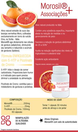 Morosil® mais associações 60 cápsulas