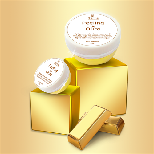 Peeling de ouro 50g