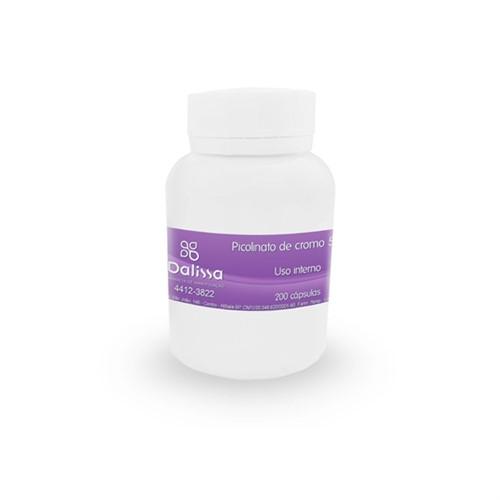 Picolinato de Cromo 200 cápsulas