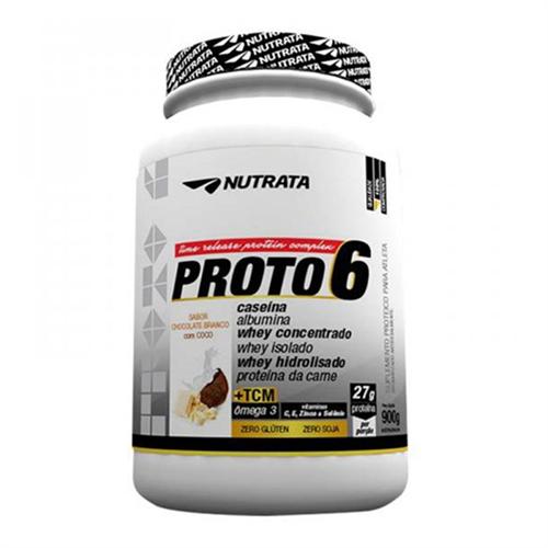 Proto 6 Chocolate Branco com Coco Nutrata 900g