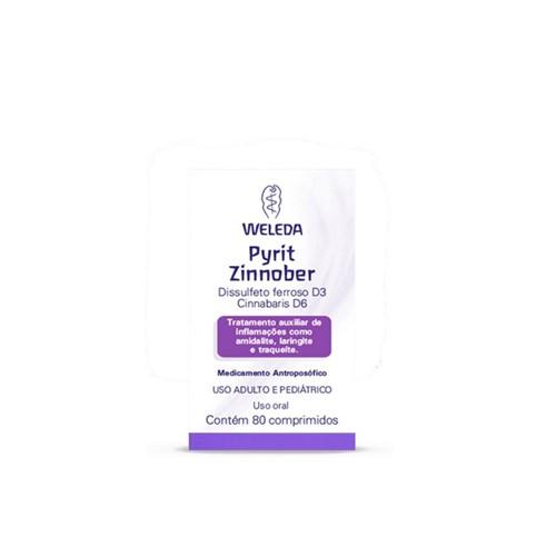 Pyrit-Zinnober 80 Comprimidos Weleda