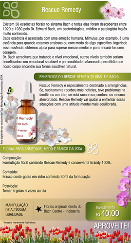 Rescue Remedy (Floral de Bach) 30ml