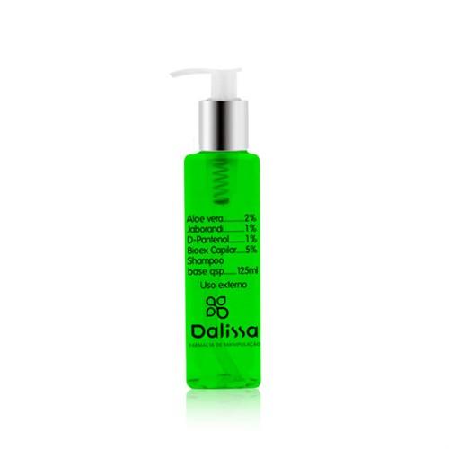 Shampoo com aloe vera, Jaborandi, D-Pantenol e Bioex 125ml