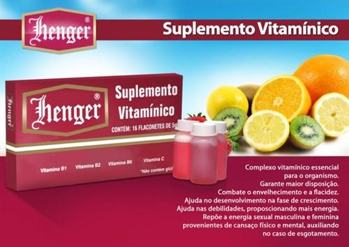 Suplemento Vitamínico Henger