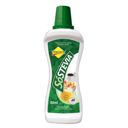 Sóstevia 100% Natural  Frasco 80ml