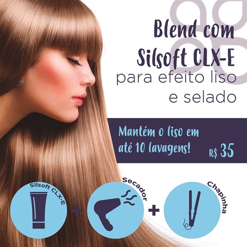 Blend com Silsoft CLX-E para Efeito Liso