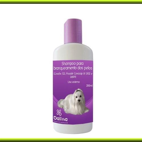 Shampoo para branqueamento de pelos