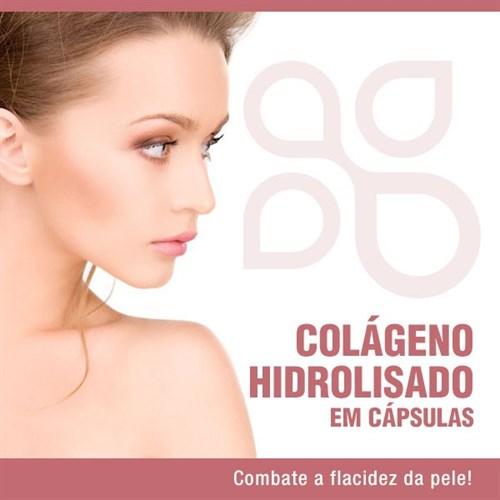Colágeno hidrolisado em cápsulas
