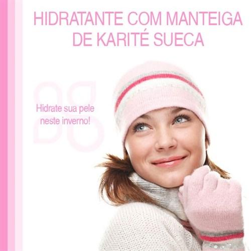 Hidratante corporal com manteiga de Karité Sueca