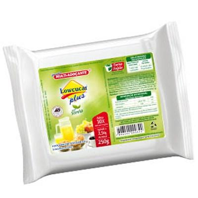 Lowçucar Plus com Stevia  Refil 250g