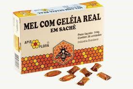 Mel com Geléia Real em Sachê - Apis flora