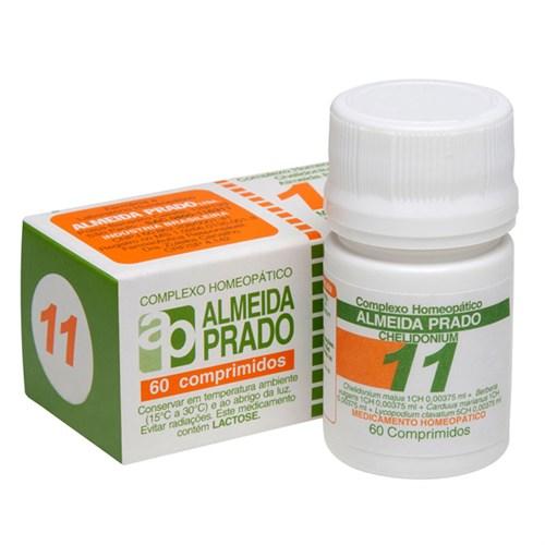 Complexo Homeopático Chelidonium Almeida Prado nº 11