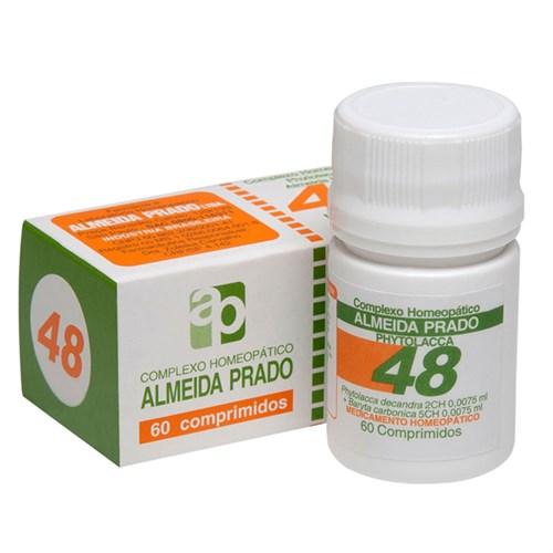 Complexo Homeopático Phytolacca Almeida Prado nº 48