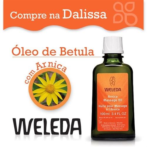 Óleo de Betula para Massagem com Arnica 100ml Weleda