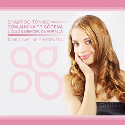 Shampoo tônico c/ Auxina tricógena e óleo essencial de hortelã