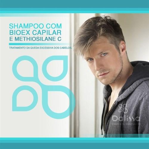 Shampoo com Bioex capilar e Methiosilane C