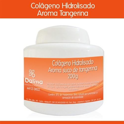 Colágeno Hidrolisado - Suco sabor tangerina