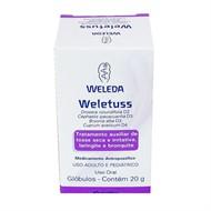 Weletuss 20 g em glóbulos Weleda