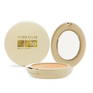 Filtro Solar FPS 50 Pó Compacto Translúcido Adcos