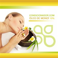 Condicionador com óleo de Monoï 10%