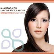 Shampoo com Jaborandi e babosa
