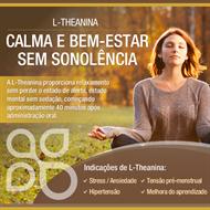 L- Teanina 200mg 60 cápsulas