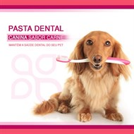 Pasta dental Canina sabor Carne