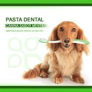 Pasta dental Canina sabor Menta