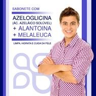 Sabonete com Azeloglicina + Melaleuca + Alantoina