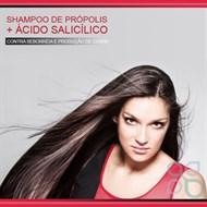 Shampoo de própolis + ácido salicílico