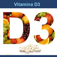 Vitamina D3 1000UI 180 cápsulas