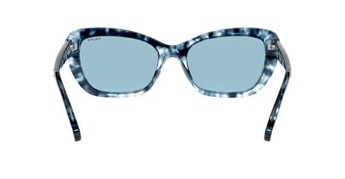 RALPH R. Lauren 5264 - Armação Acetato Havana Azul, Lentes Cosméticas Azul - 5844E3