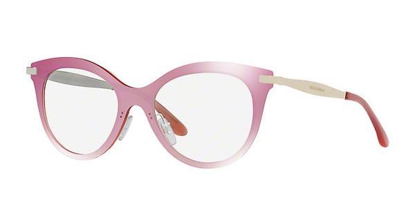 7f7e00259 Dolce & Gabbana 1292 - Armação Acetato Rosa Translúcido- 05L1E ...
