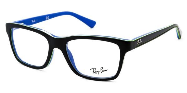 72fcde1faaf97 Ray Ban Jr 1536 - Armação Acetato Preto  Azul Verde - 3600 - Comprar ...