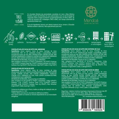 Caixa de Presentes Natal - Bombons Brasilis 200g
