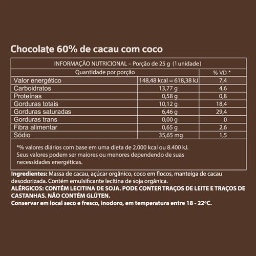 Mendoá com Coco - 25g