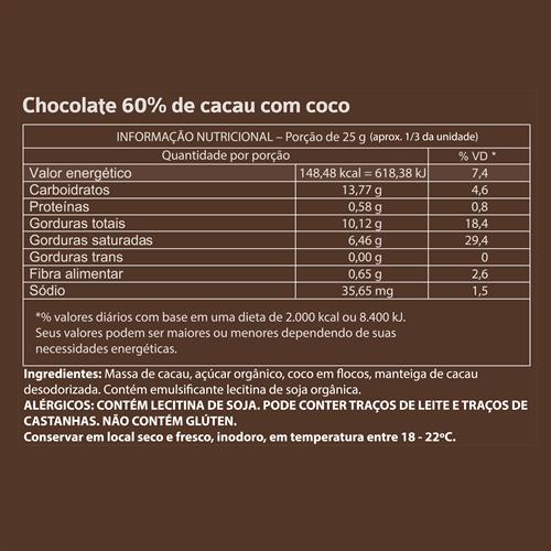 Mendoá com Coco - 75g