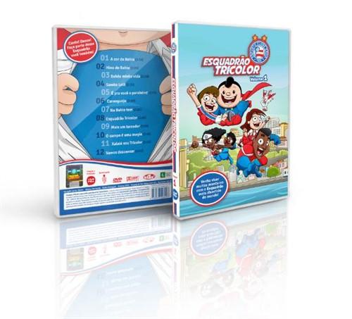 DVD ESQUADRÃO TRICOLOR V.1