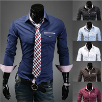 Camisa Slim Bordada