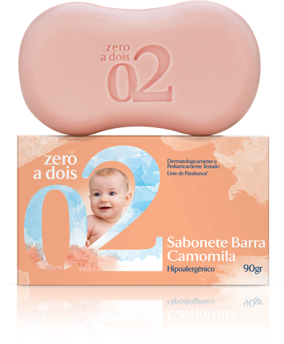 SABONETE EM BARRA - CAMOMILA 90G