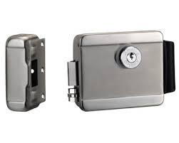 Fechadura elétrica INOX para sistema de Interfonia AGL
