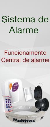 Sistema de alarme : Central de alarme