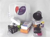Kit Alarme -1 sensor com fio +1 central de alarme + 2 controles + discadora + 1 sirene  GENNO