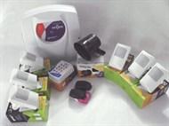 Kit Alarme -6 sensores com fio + 1 central de alarme + 1 discadora +2 controles + 1 sirene GENNO