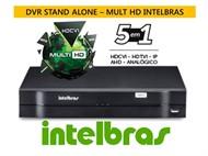 Dvr Stand Alone MHDX Intelbras 16 canais 1016  Tríbrido 5 Em 1
