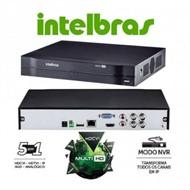 Dvr Stand Alone MHDX Intelbras 4 Canais 1004 Tríbrido 5 Em 1