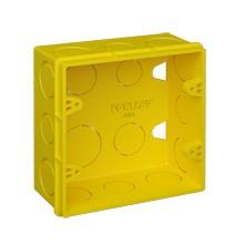 Caixa de Luz FORTLEV AMARELA 4x4