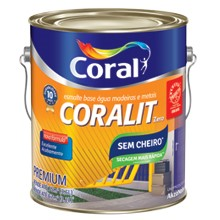 Tinta CORAL CORALIT ACETINADO 3,6L