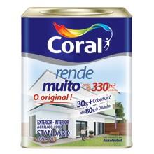 Tinta CORAL RENDE MUITO FOSCO 12L