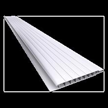 Forro PVC Maxplast duplo 20cmx6m branco